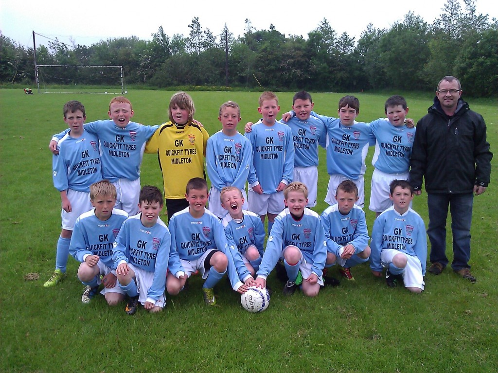 Corkbeg U-11 team, May 21st 2011