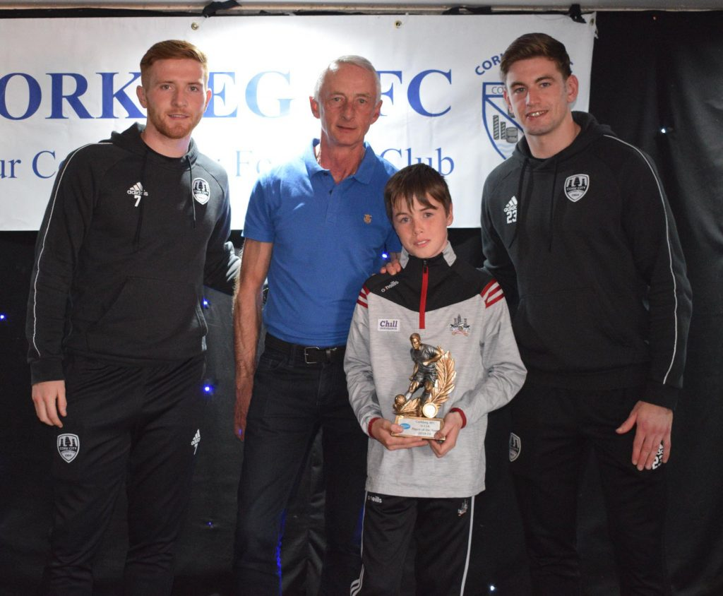 U12 A - Player of the Year – Sean Crowley