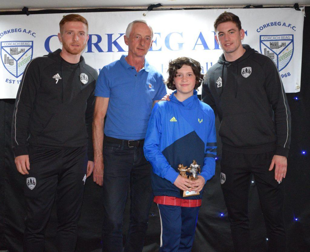 U12 A - Most Improved Player of the Year – Ewan Goff