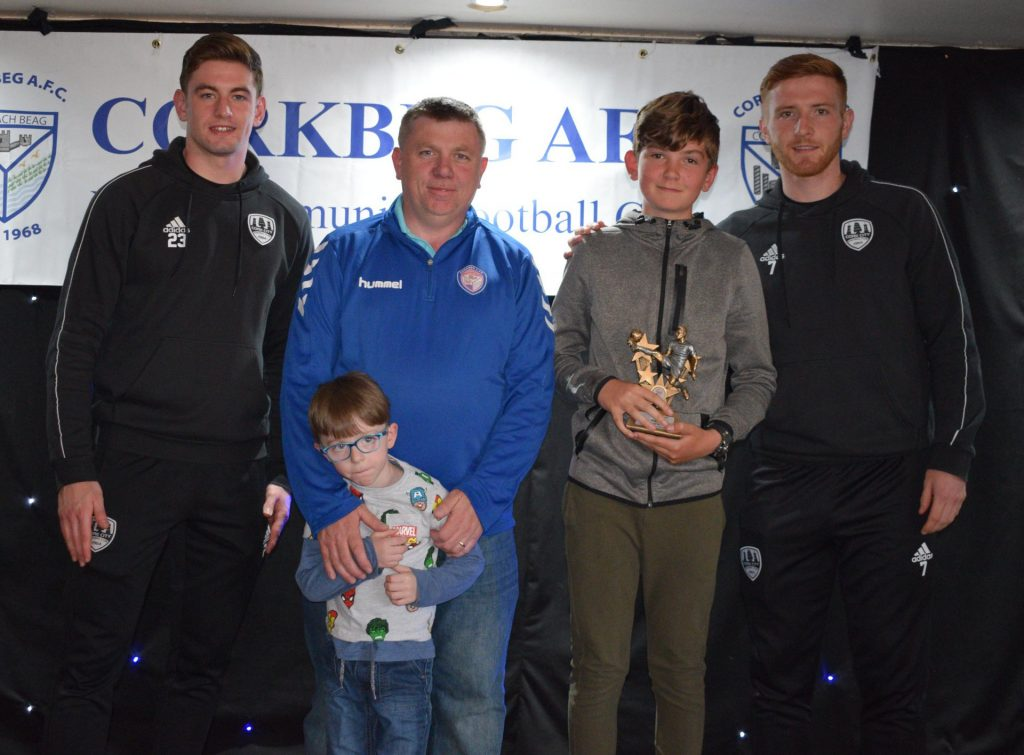 U13 Most Improved Player of the Year – Ronan Devoy