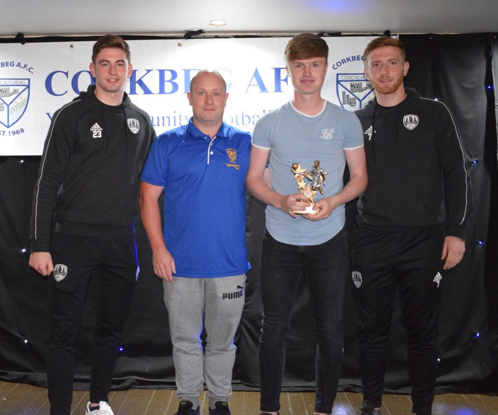 U17 Most Improved Player of the Year – Conor O Brien