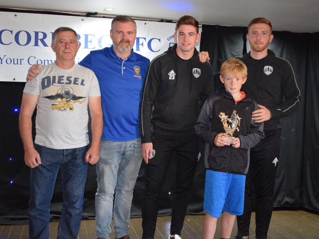 U12 Most Improved Player of the Year – Andrew Murphy