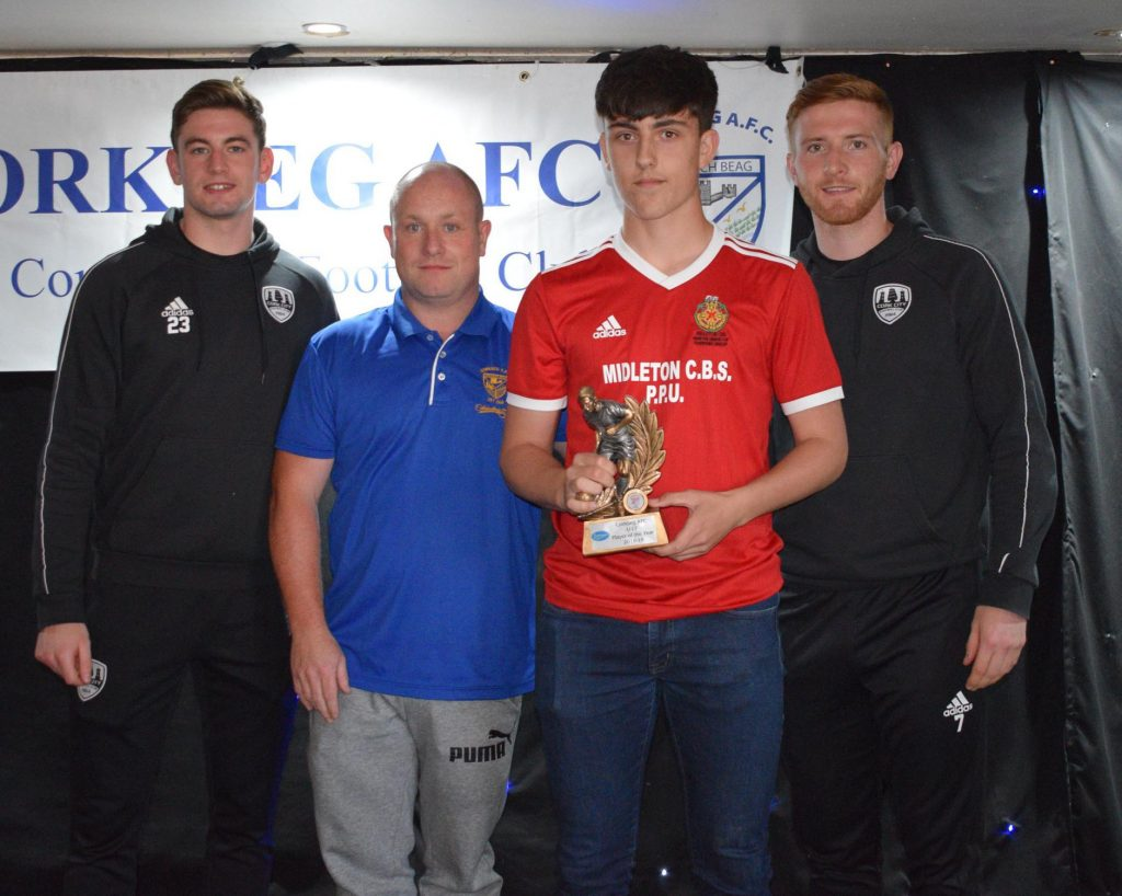 U17 Player of the Year – Christoffe Riff