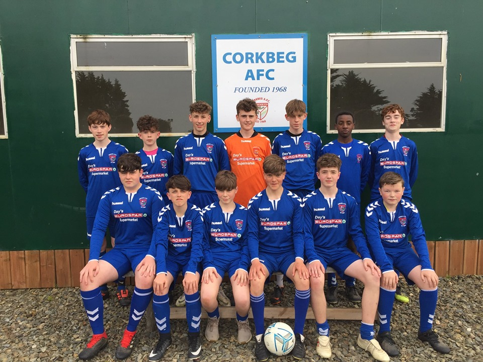 Corkbeg U-16 team will return to training on Thursday 18th of July