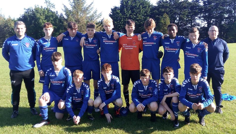 Corkbeg U-16s opened their league season in CSLDiv4 in Whitegate on Sunday morning