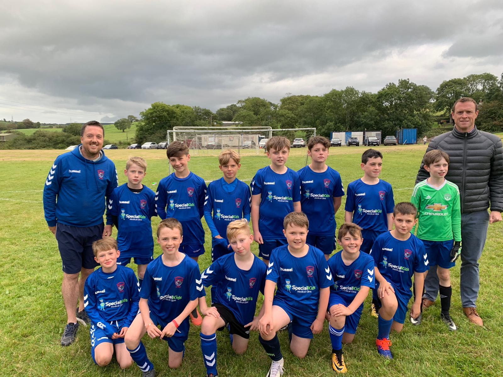Corkbeg U-12'A' had a great start to the season against Glounthaune United