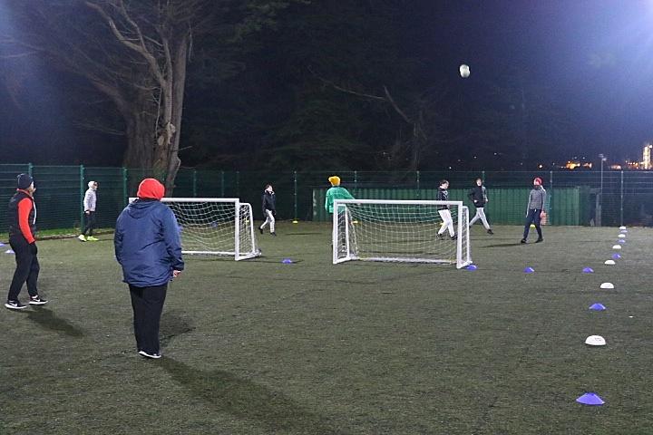 Corkbeg U-15 Social Distance Training