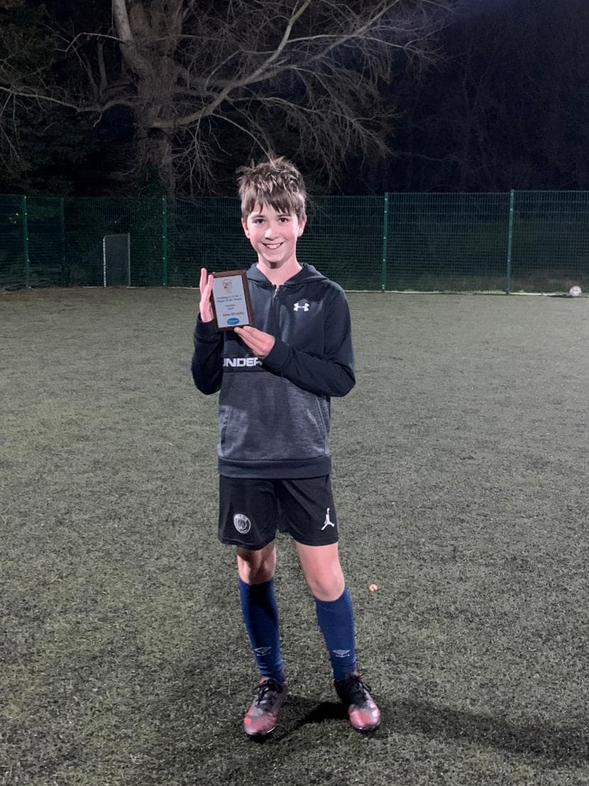 Corkbeg Player Of The Month (October 2020)
