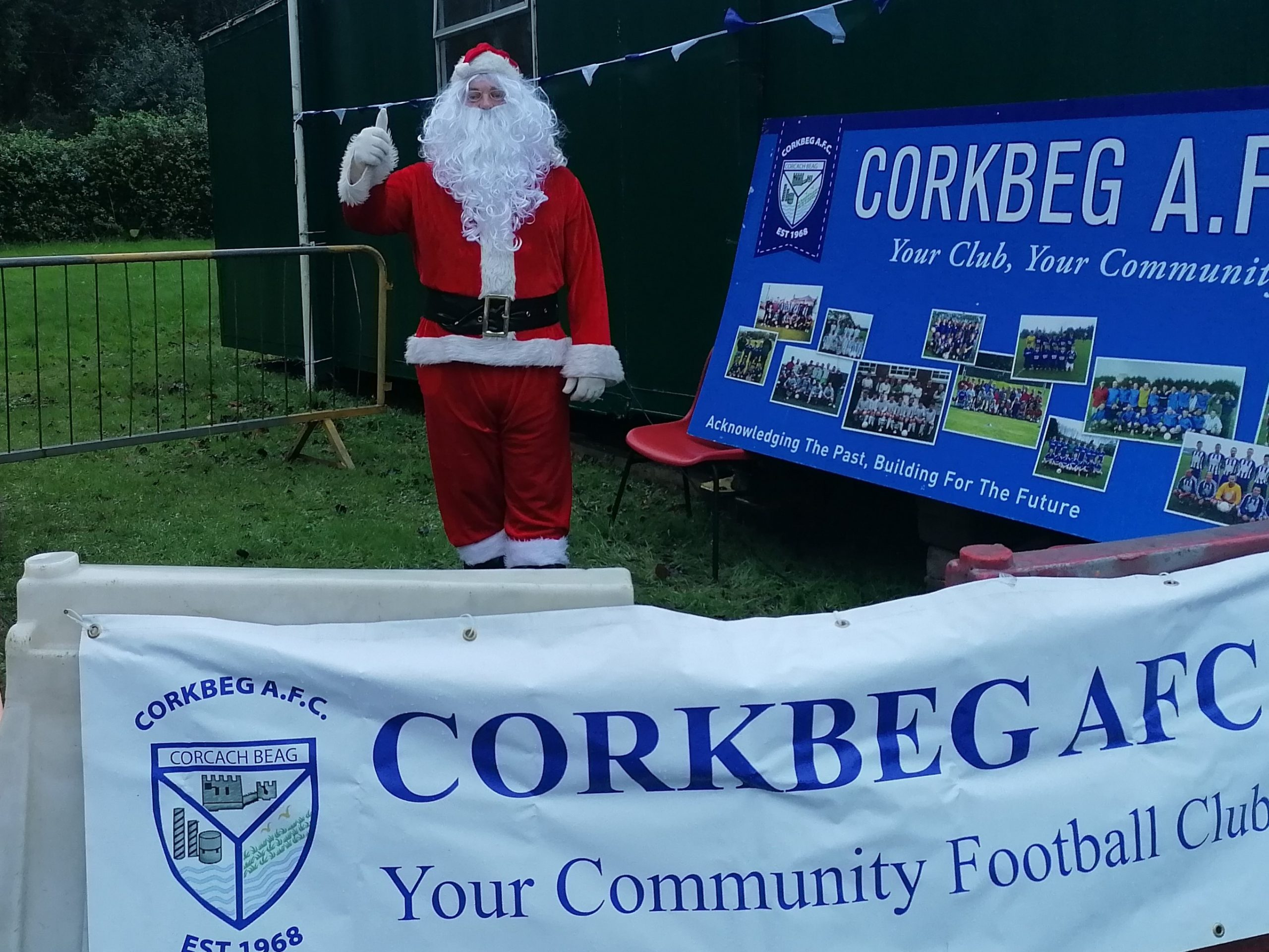 Corkbeg Academy Santa Visit 2020